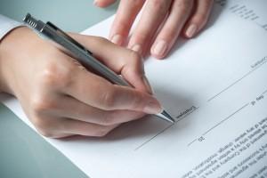 Договор за депозит, Разписка за депозит